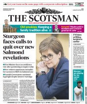 The Scotsman front page for 3 March 2021