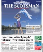 The Scotsman (UK) Newspaper Front Page for 3 April 2018