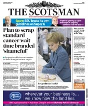 The Scotsman (UK) Newspaper Front Page for 3 May 2018