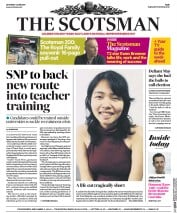 The Scotsman (UK) Newspaper Front Page for 3 June 2017