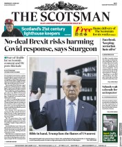 The Scotsman (UK) Newspaper Front Page for 3 June 2020