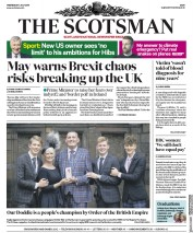 The Scotsman (UK) Newspaper Front Page for 3 July 2019