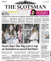 The Scotsman front page for 3 July 2020