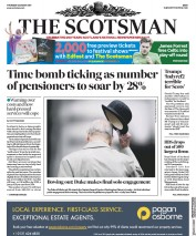 The Scotsman (UK) Newspaper Front Page for 3 August 2017