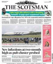The Scotsman front page for 3 August 2020