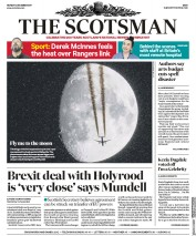 The Scotsman (UK) Newspaper Front Page for 4 December 2017