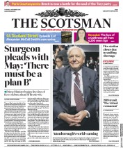 The Scotsman (UK) Newspaper Front Page for 4 December 2018