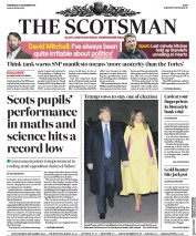 The Scotsman (UK) Newspaper Front Page for 4 December 2019
