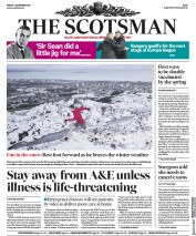 The Scotsman front page for 4 December 2020