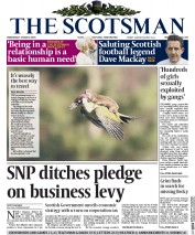 The Scotsman (UK) Newspaper Front Page for 4 March 2015