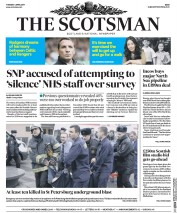 The Scotsman (UK) Newspaper Front Page for 4 April 2017