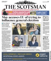 The Scotsman (UK) Newspaper Front Page for 4 May 2017