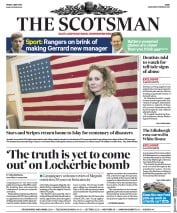 The Scotsman (UK) Newspaper Front Page for 4 May 2018