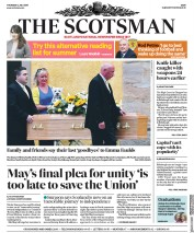 The Scotsman (UK) Newspaper Front Page for 4 July 2019