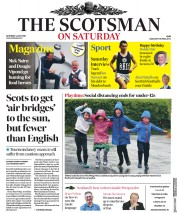 The Scotsman front page for 4 July 2020