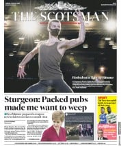 The Scotsman front page for 4 August 2020