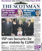 The Scotsman Newspaper Front Page (UK) for 5 October 2012