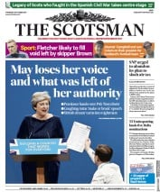 The Scotsman (UK) Newspaper Front Page for 5 October 2017