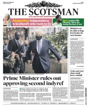 The Scotsman front page for 5 October 2020