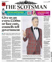 The Scotsman (UK) Newspaper Front Page for 5 November 2018