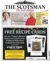 The Scotsman front page for 5 December 2020