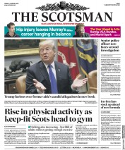 The Scotsman (UK) Newspaper Front Page for 5 January 2018