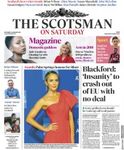 The Scotsman (UK) Newspaper Front Page for 5 January 2019
