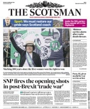 The Scotsman (UK) Newspaper Front Page for 5 February 2018