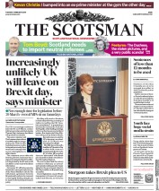 The Scotsman (UK) Newspaper Front Page for 5 February 2019