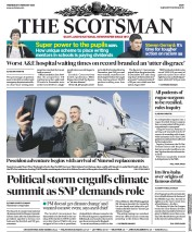 The Scotsman (UK) Newspaper Front Page for 5 February 2020
