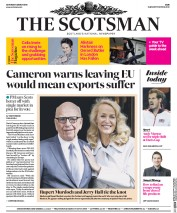 The Scotsman (UK) Newspaper Front Page for 5 March 2016