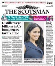 The Scotsman front page for 5 March 2021