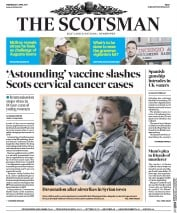 The Scotsman (UK) Newspaper Front Page for 5 April 2017