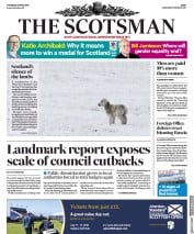 The Scotsman (UK) Newspaper Front Page for 5 April 2018