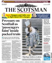 The Scotsman (UK) Newspaper Front Page for 5 April 2019