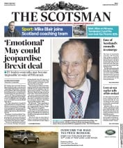 The Scotsman (UK) Newspaper Front Page for 5 May 2017