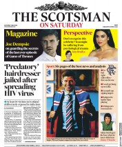 The Scotsman (UK) Newspaper Front Page for 5 May 2018