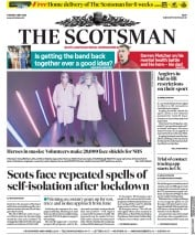 The Scotsman (UK) Newspaper Front Page for 5 May 2020
