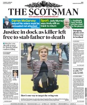 The Scotsman (UK) Newspaper Front Page for 5 June 2018