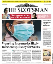 The Scotsman (UK) Newspaper Front Page for 5 June 2020