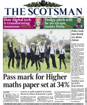 The Scotsman (UK) Newspaper Front Page for 5 August 2015