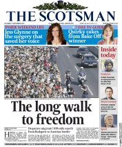 The Scotsman (UK) Newspaper Front Page for 5 September 2015