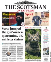 The Scotsman front page for 5 September 2020