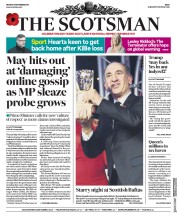 The Scotsman (UK) Newspaper Front Page for 6 November 2017