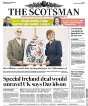 The Scotsman (UK) Newspaper Front Page for 6 December 2017