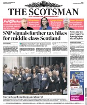The Scotsman (UK) Newspaper Front Page for 6 December 2018