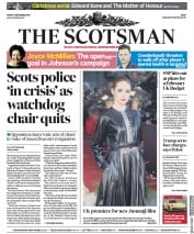 The Scotsman (UK) Newspaper Front Page for 6 December 2019