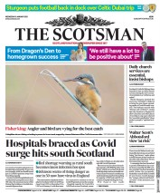 The Scotsman front page for 6 January 2021