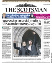 The Scotsman (UK) Newspaper Front Page for 6 February 2018
