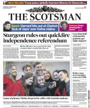 The Scotsman () Newspaper Front Page for 6 February 2019